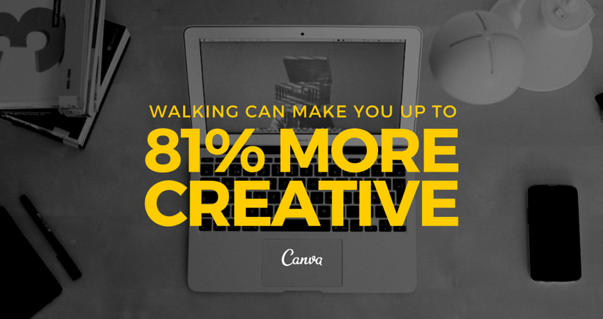 walking makes creative
